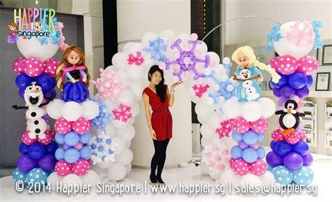 Best 25+ Frozen Balloon Decorations Ideas On Pinterest