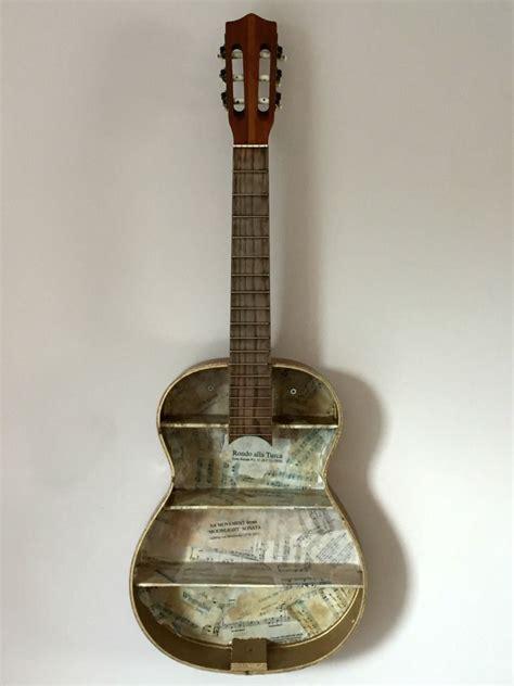 awesome guitar shelf tutorial guitar