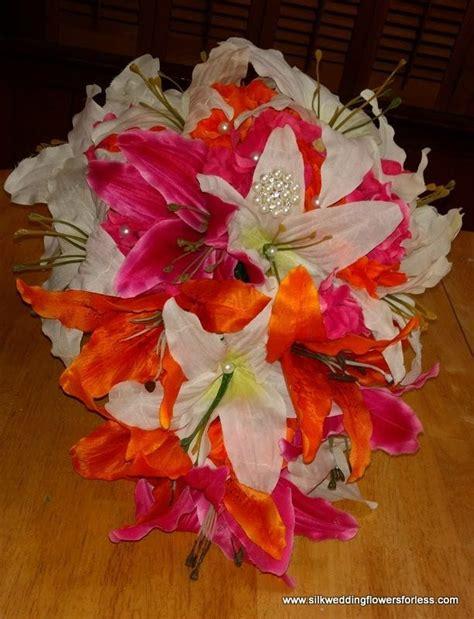 ideas  silk wedding flowers  pinterest