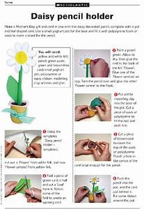 Make A Daisy Pencil Pot For Mother U2019s Day  U2013 Primary Ks2