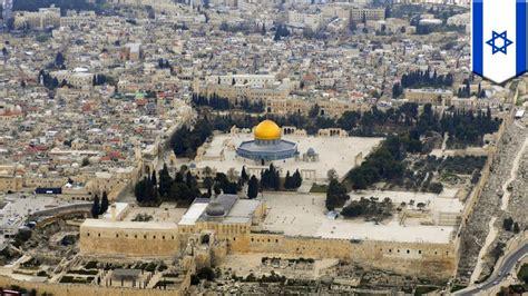 israel  palestine temple mount  epicenter