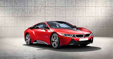 Exclusive Bmw I8 Protonic Red Edition