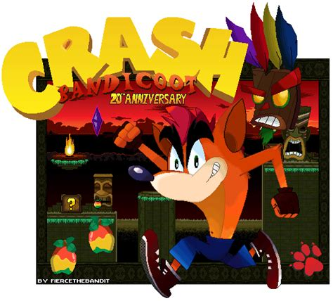 crash bandicoot fan game classic crash bandicoot by fiercethebandit on deviantart