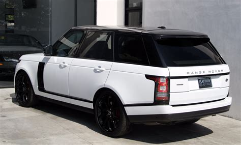 land rover range rover supercharged stock