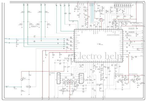 electro  cla samsung crt tv circuit diagram