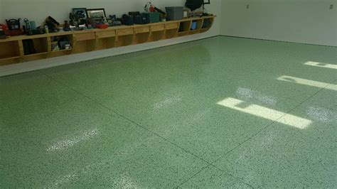 garage floor paint green commercial grade garage floor epoxy gurus floor
