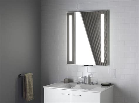 Kohler Bathroom Mirrors by Kohler Konnect And Verdera Voice Lighted Mirror For The