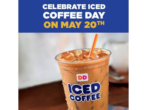 Dunkin' Donuts' Iced Coffee Day 5/20 My Coffee House Laconia Starbucks Iced No Classic Nutrition Benefits Of Roasted Versus Tea Water Coconut Oil In Your Review With Mct