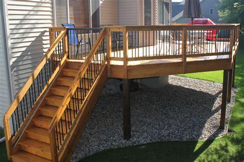 portfolio  deck construction work hybrook homes