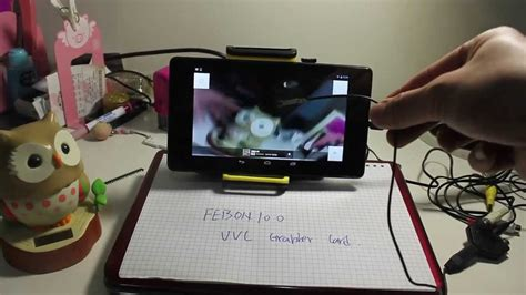 root endoscope snake camera connect uvc cvbs