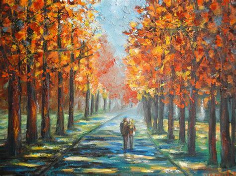memory lane painting  charles vaughn