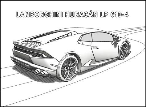 Auto Kleurplaat Lamborghini by Lamborghini Coloring Pages Coloringsuite