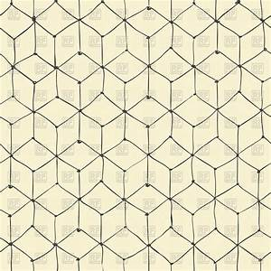Seamless hand-drawn repeating cubes pattern Vector Image ...