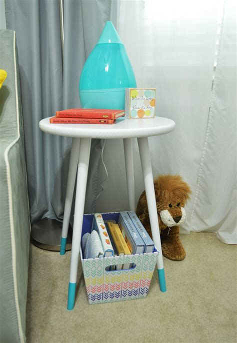 nursery side table ideas nursery side table and for trends picture diy mid century