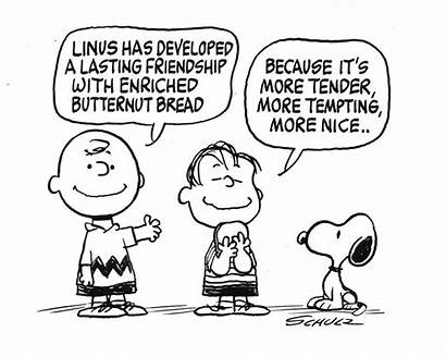 Charlie Brown Coloring Peanuts Pages Christmas Friendship