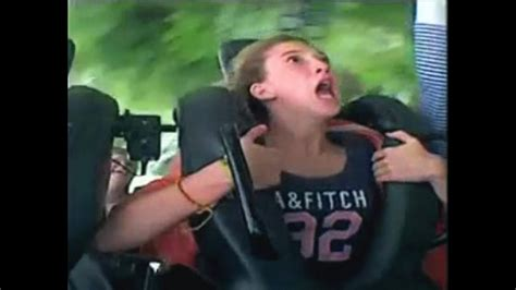 Funny Reaction On Roller Coaster 2 Youtube