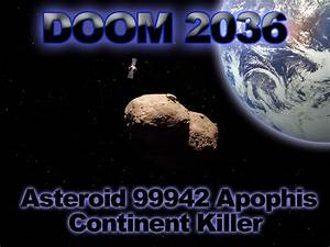 Asteroid 2036 End of World - Pics about space