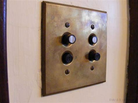 push button light switch how to find restore and install vintage light switch