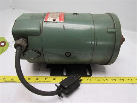 General Electric Dc Motors by Ge General Electric 5bcd56kb32b 1 4 Hp Dc Electric Motor