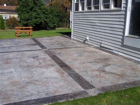 gs flatwork llc decorative concrete patios