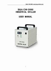 Cw 5000 Water Chiller Manual