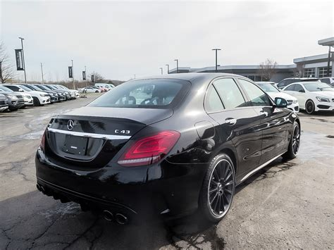 Request a dealer quote or view used cars at msn autos. New 2020 Mercedes-Benz C43 AMG 4MATIC Sedan 4-Door Sedan in Kitchener #39697 | Mercedes-Benz ...