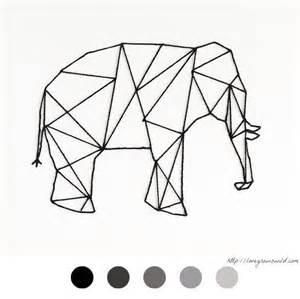 Le Elephant Anana by Elephant 233 L 233 Phant Diy D 233 Co Tableau Clou Fil