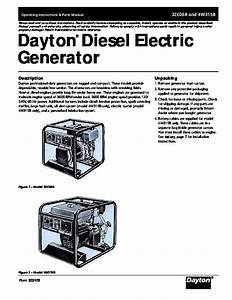 China Diesel Generator Owners Manual Diagrams
