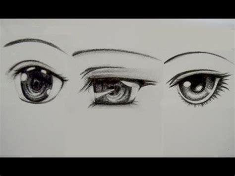 como dibujar ojos manga youtube