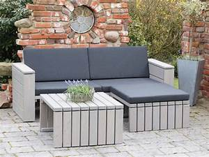 Loungemöbel Holz Outdoor : loungem bel aus holz made in germany holzweise ~ Watch28wear.com Haus und Dekorationen