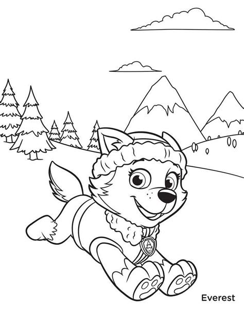 Free Coloring Sheets Paw patrol coloring pages Paw