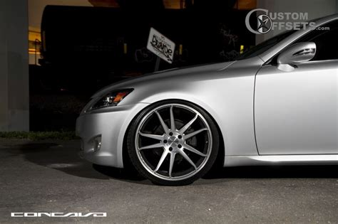 lexus is 250 custom wheels wheel offset 2008 lexus is 250 flush dropped 1 3 custom rims