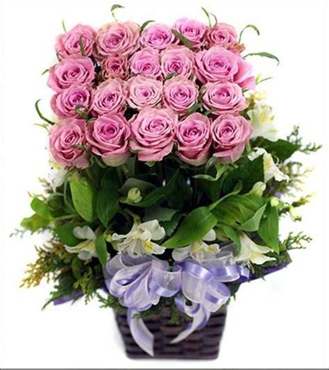 กระเช้าดอกไม้สวยๆ