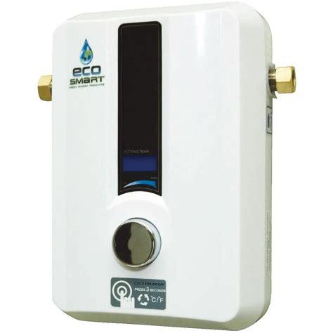 water heater ecosmart 240v 13 6 kw electric tankless water heater ebay