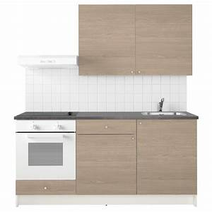 Knoxhult kitchen wood effect grey 180x61x220 cm ikea for Cucine da cm 160