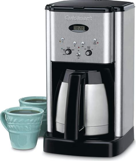 Venus espresso coffee maker is recommended for those who want coffee with a smoother taste: Cuisinart 10-Cup Brushed Stainless Brew Central Programmable Coffee Maker - DCC-1400C