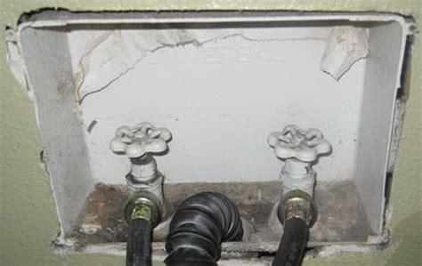 fix  leaking washing machine onoff water valve