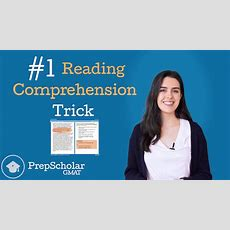 #1 Gmat Reading Comprehension Trick How To Avoid Trap Answers [video] • Prepscholar Gmat