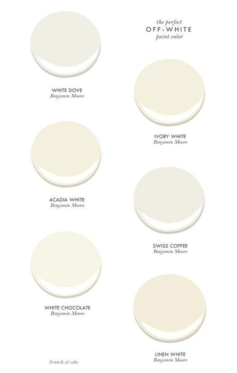 good off white color to paint furniture 1000 ideas about off white paints on pinterest benjamin