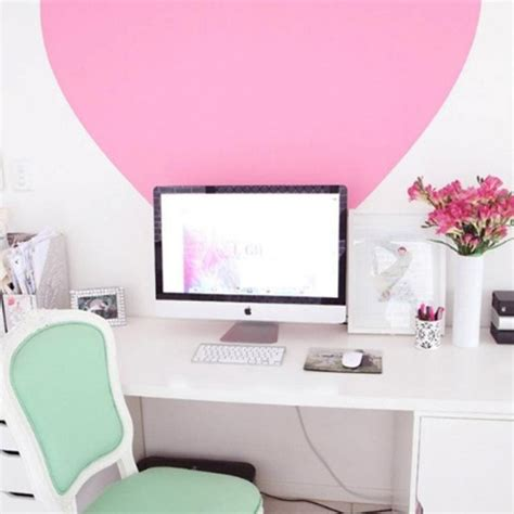 17 pink computer desk for girl