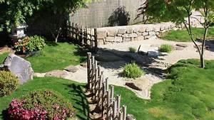 jardin japonais jardin zen nos conseils pratiques pour With modele de jardin paysager 15 quelles plantes pour un massif de bord de piscine