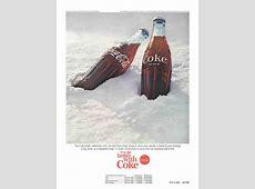 Slideshow Vintage CocaCola Bottle Print Ads CocaCola