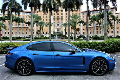 A sports car without compromise for everyday use. Used 2018 Porsche Panamera 4S For Sale ($83,850) | The Gables Sports Cars Stock #132959