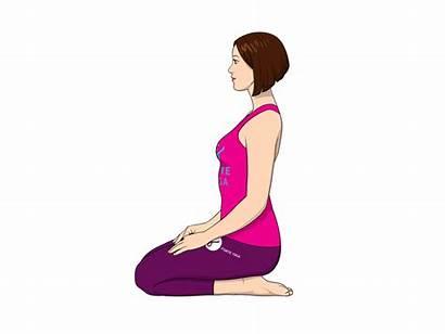 Thunderbolt Pose Yoga Poses Forte Vajrasana Teacher