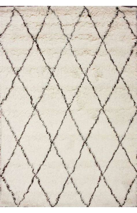 moroccan beni ourain style wool rug at 1stdibs