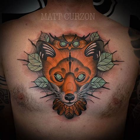 fox tattoos    youll