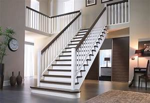 Escalier Bois Blanc : escalier flin trouvez l 39 inspiration 10 photos ~ Melissatoandfro.com Idées de Décoration