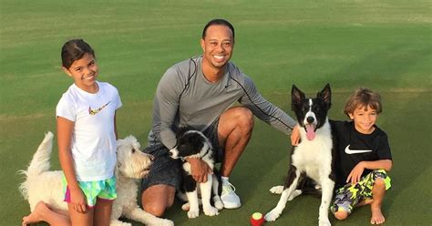 What Do Tiger Woods's Kids Look Like Now? They're All Grown Up