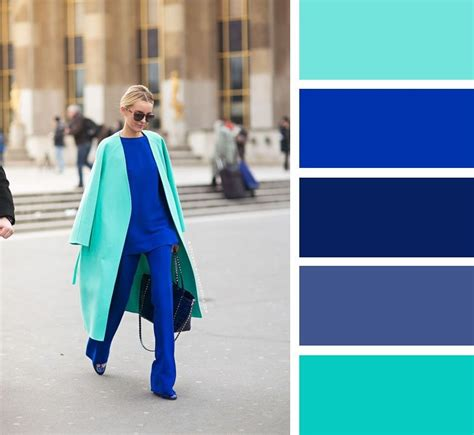 color combinations with blue