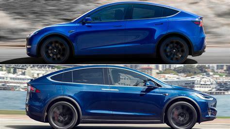 Tesla Vs by 2020 Tesla Model Y Vs 2019 Tesla Model X Pictures Photos